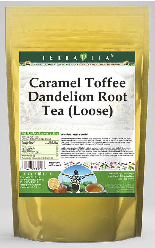 Caramel Toffee Dandelion Root Tea (Loose)