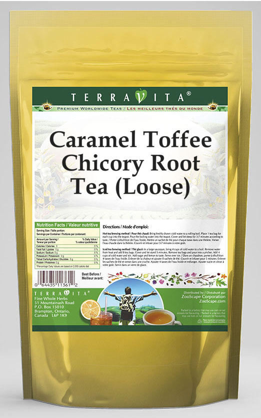 Caramel Toffee Chicory Root Tea (Loose)