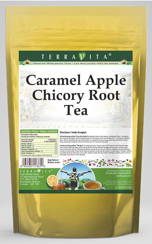Caramel Apple Chicory Root Tea
