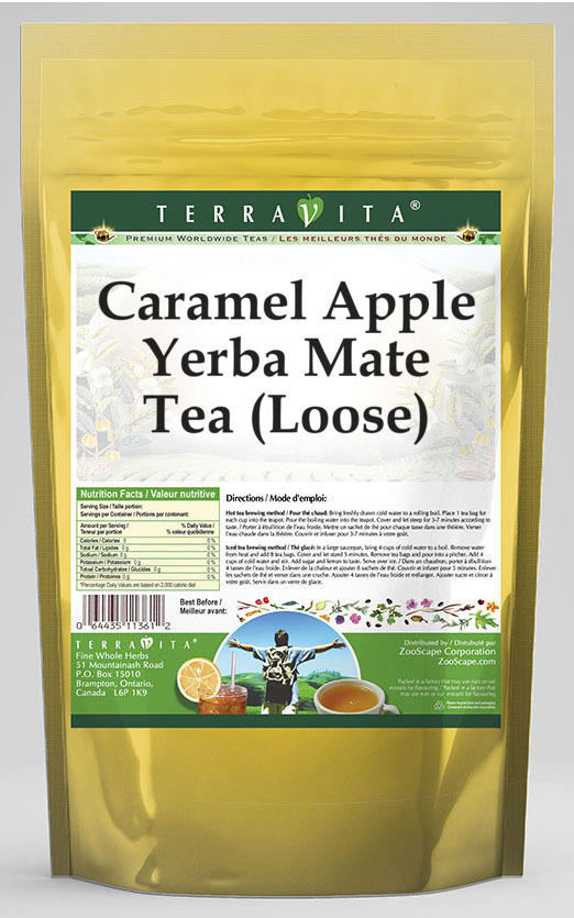 Caramel Apple Yerba Mate Tea (Loose)