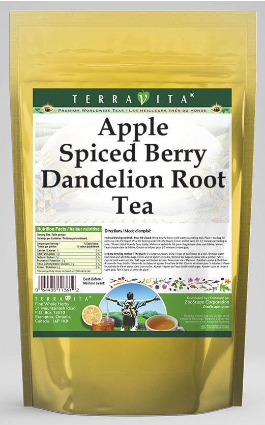 Apple Spiced Berry Dandelion Root Tea