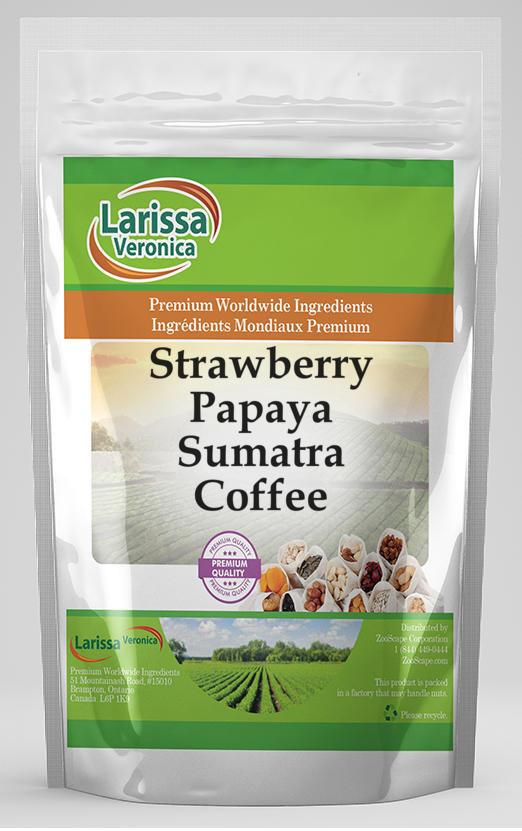 Strawberry Papaya Sumatra Coffee