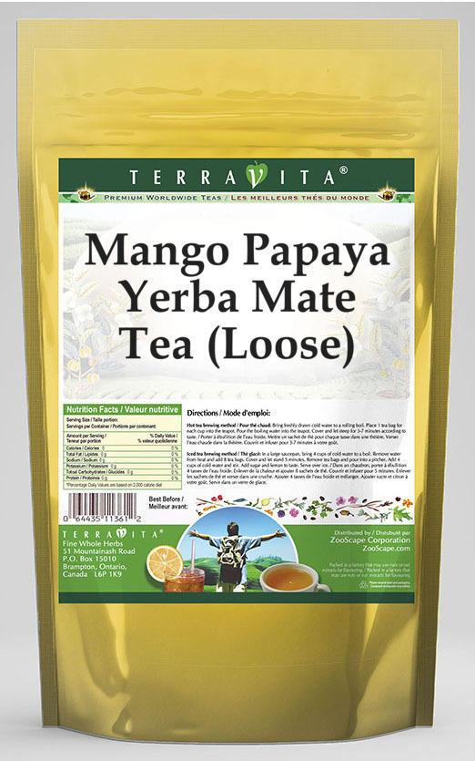 Mango Papaya Yerba Mate Tea (Loose)