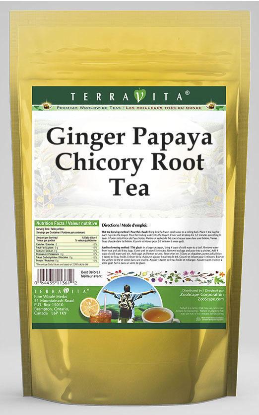 Ginger Papaya Chicory Root Tea