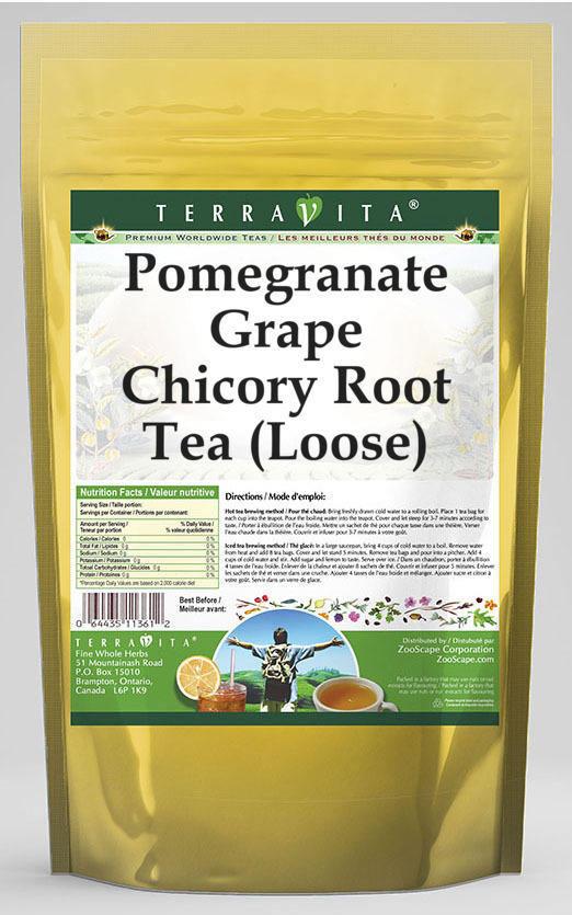 Pomegranate Grape Chicory Root Tea (Loose)