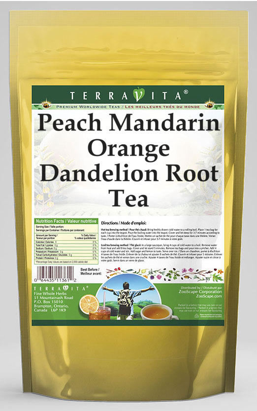 Peach Mandarin Orange Dandelion Root Tea