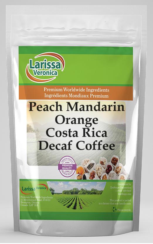 Peach Mandarin Orange Costa Rica Decaf Coffee
