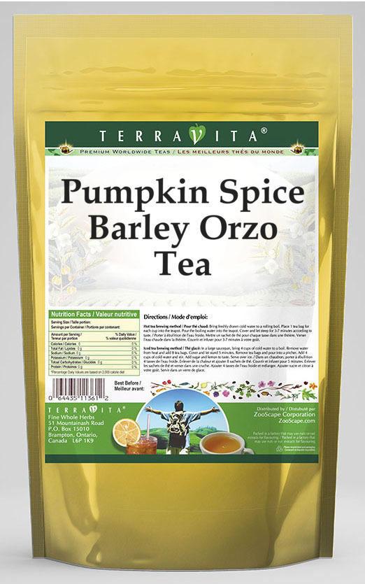 Pumpkin Spice Barley Orzo Tea