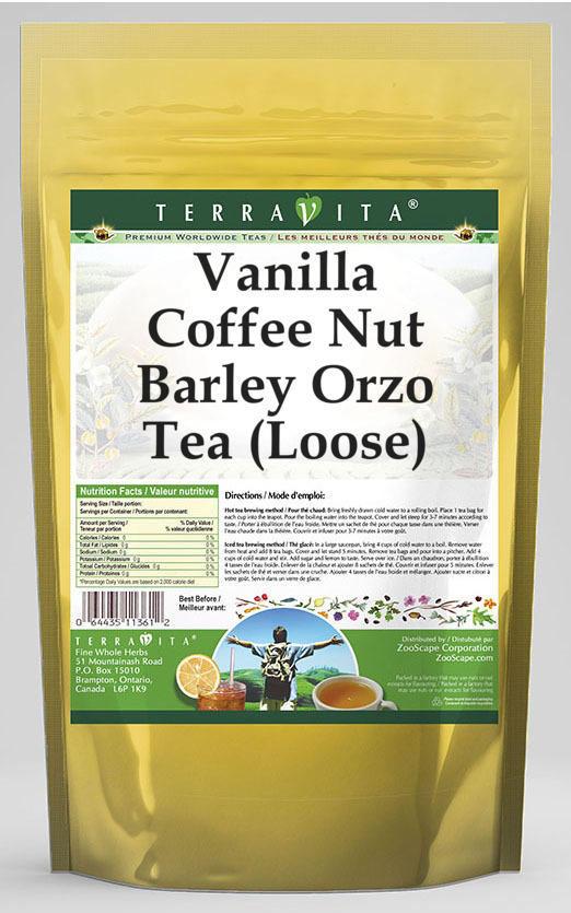 Vanilla Coffee Nut Barley Orzo Tea (Loose)