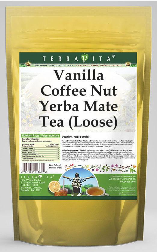 Vanilla Coffee Nut Yerba Mate Tea (Loose)