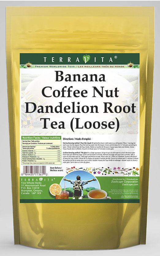 Banana Coffee Nut Dandelion Root Tea (Loose)