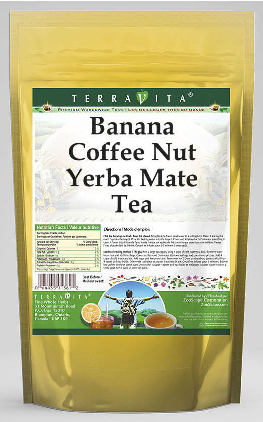 Banana Coffee Nut Yerba Mate Tea