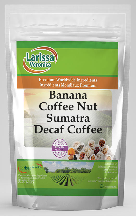 Banana Coffee Nut Sumatra Decaf Coffee