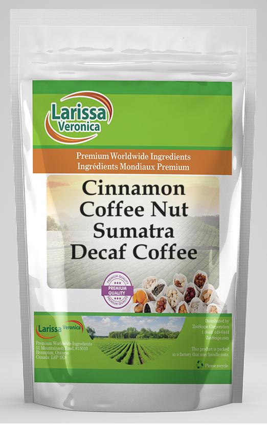 Cinnamon Coffee Nut Sumatra Decaf Coffee