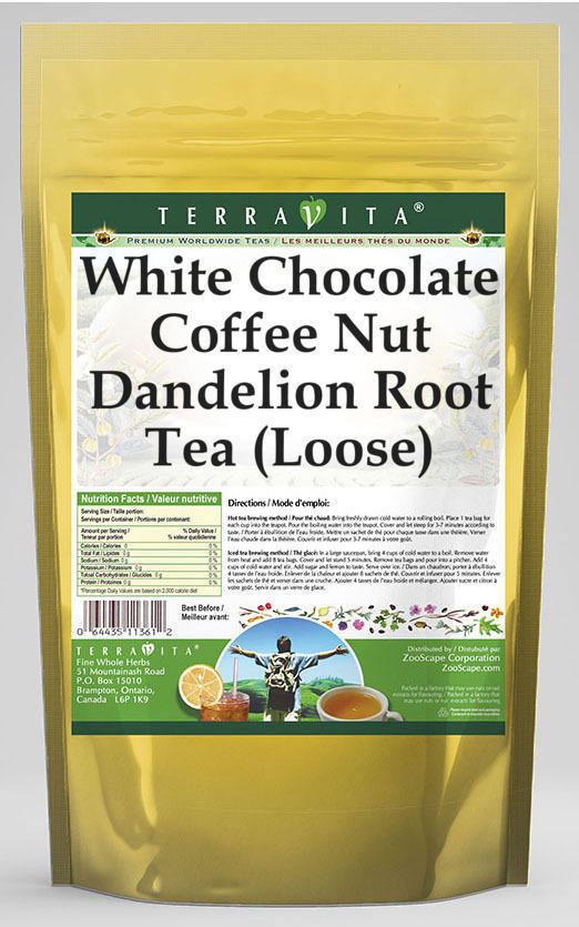White Chocolate Coffee Nut Dandelion Root Tea (Loose)