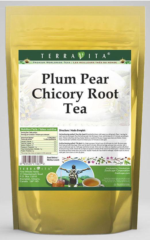 Plum Pear Chicory Root Tea