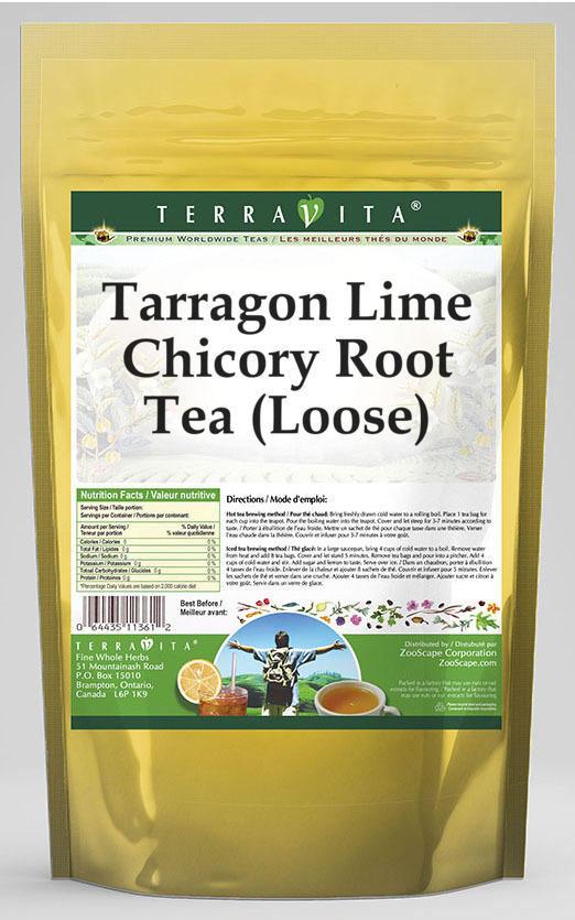 Tarragon Lime Chicory Root Tea (Loose)