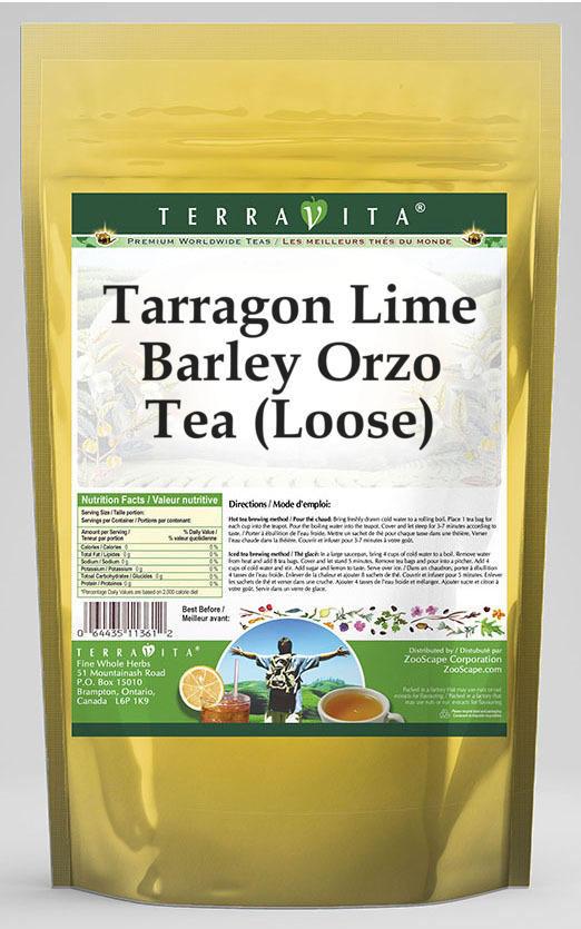 Tarragon Lime Barley Orzo Tea (Loose)