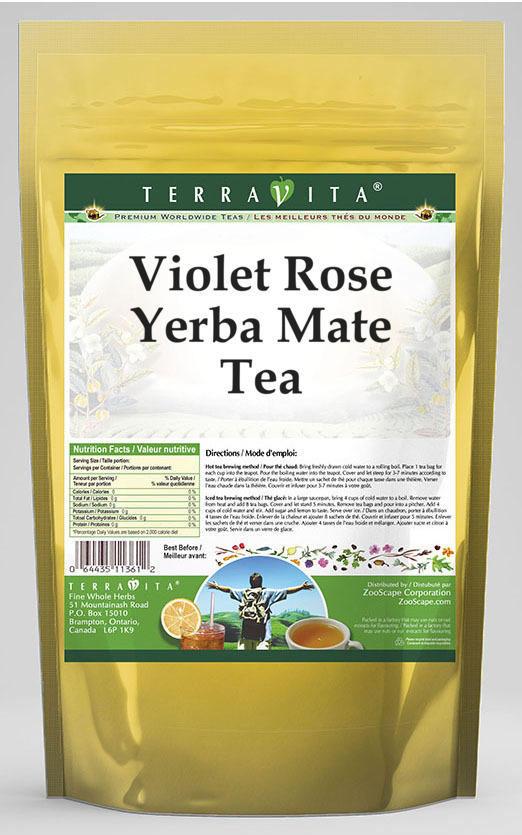 Violet Rose Yerba Mate Tea