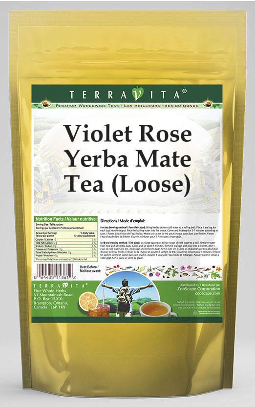 Violet Rose Yerba Mate Tea (Loose)