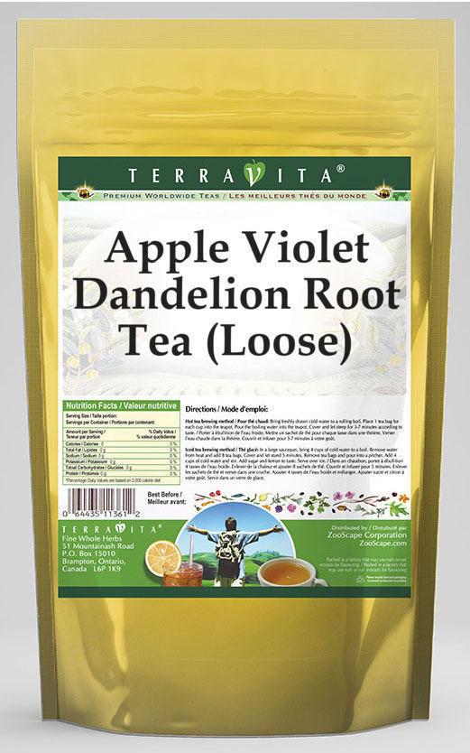 Apple Violet Dandelion Root Tea (Loose)