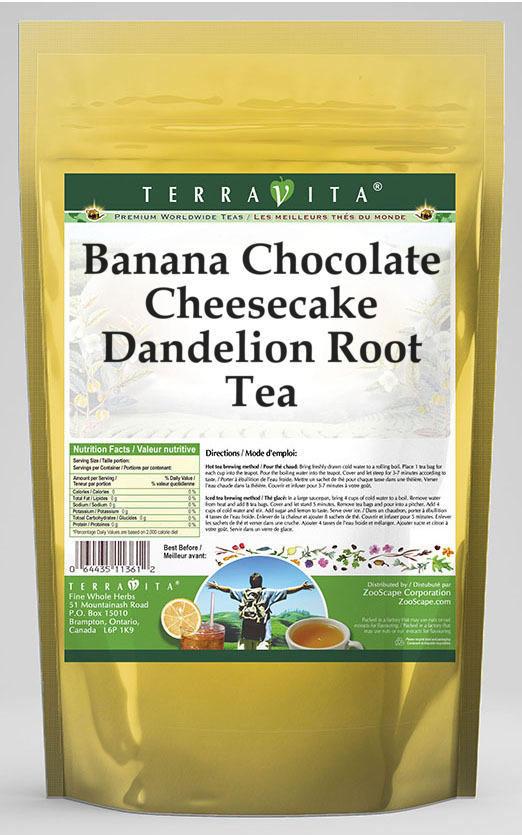 Banana Chocolate Cheesecake Dandelion Root Tea