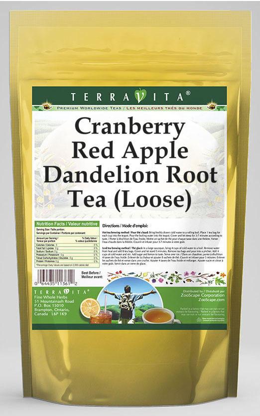 Cranberry Red Apple Dandelion Root Tea (Loose)