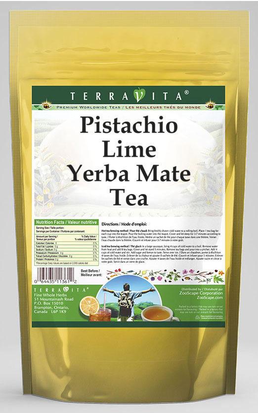 Pistachio Lime Yerba Mate Tea