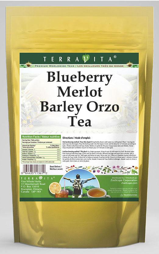 Blueberry Merlot Barley Orzo Tea