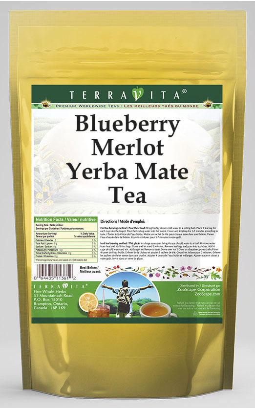 Blueberry Merlot Yerba Mate Tea