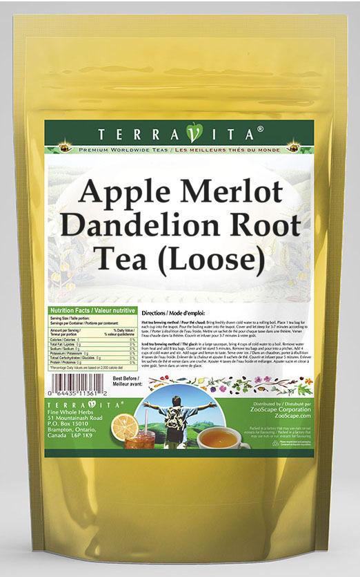 Apple Merlot Dandelion Root Tea (Loose)