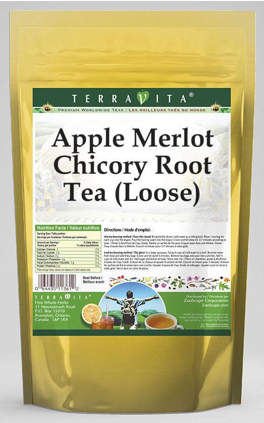 Apple Merlot Chicory Root Tea (Loose)