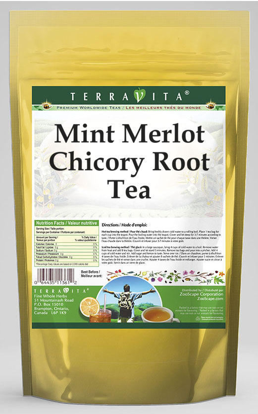 Mint Merlot Chicory Root Tea