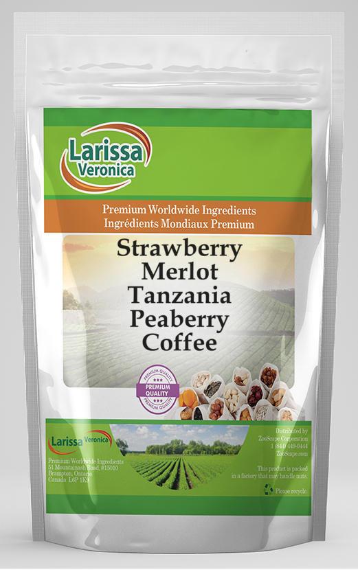 Strawberry Merlot Tanzania Peaberry Coffee