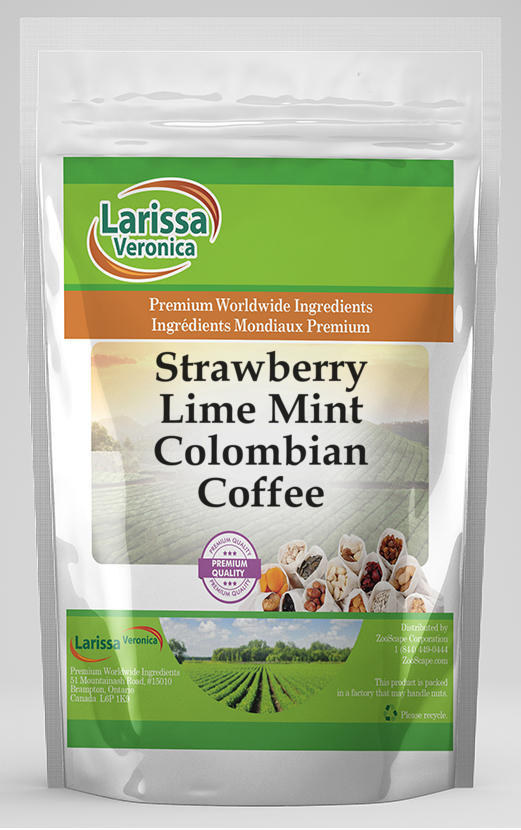 Strawberry Lime Mint Colombian Coffee