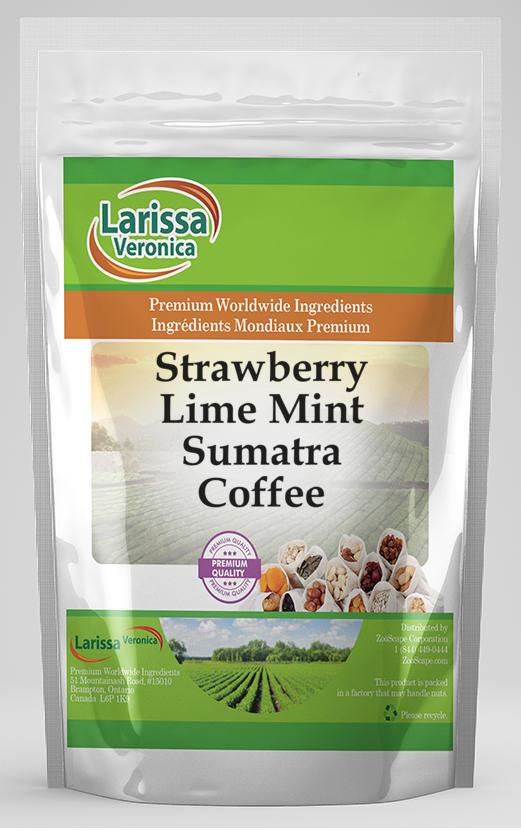 Strawberry Lime Mint Sumatra Coffee