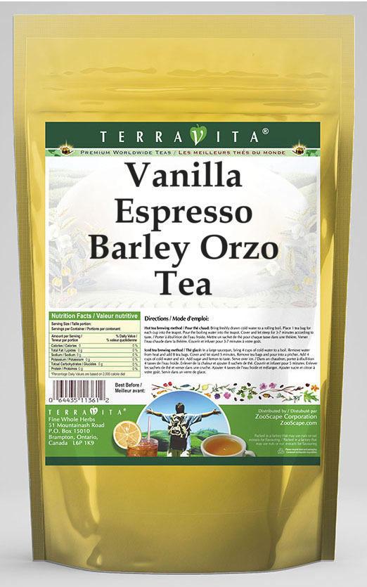 Vanilla Espresso Barley Orzo Tea