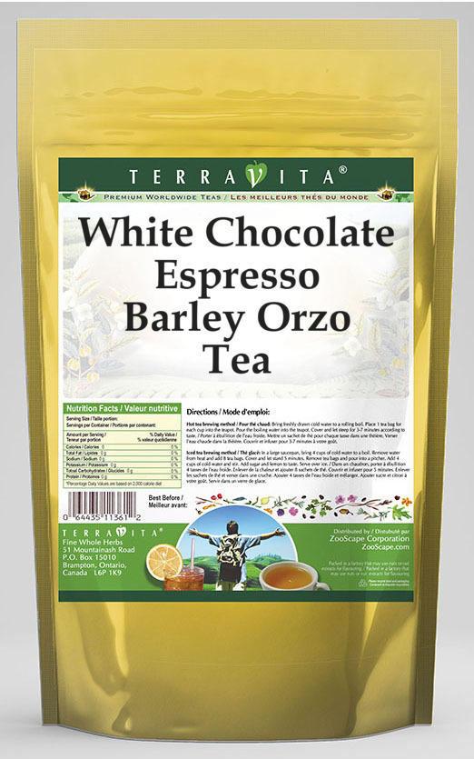 White Chocolate Espresso Barley Orzo Tea