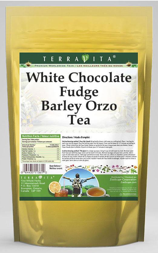 White Chocolate Fudge Barley Orzo Tea