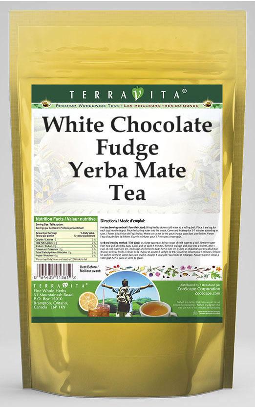 White Chocolate Fudge Yerba Mate Tea