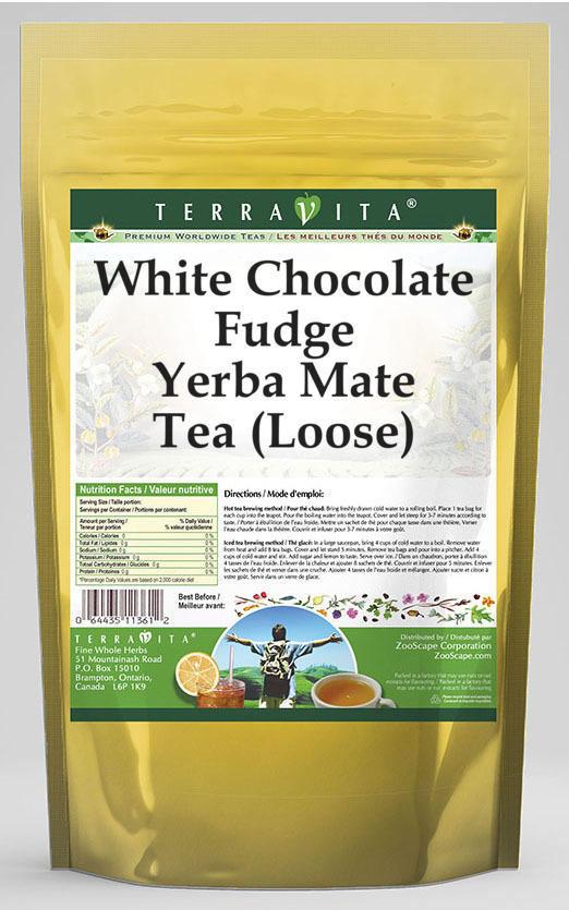 White Chocolate Fudge Yerba Mate Tea (Loose)