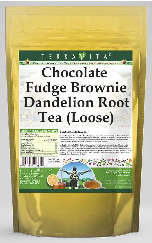 Chocolate Fudge Brownie Dandelion Root Tea (Loose)
