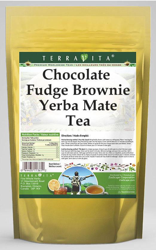 Chocolate Fudge Brownie Yerba Mate Tea