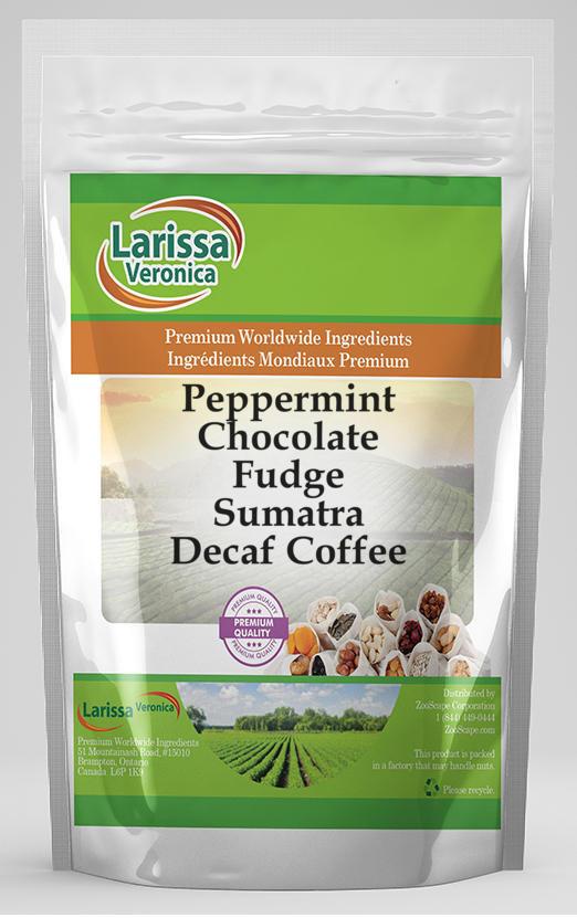 Peppermint Chocolate Fudge Sumatra Decaf Coffee