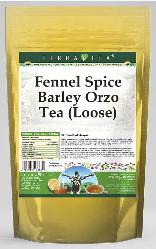 Fennel Spice Barley Orzo Tea (Loose)