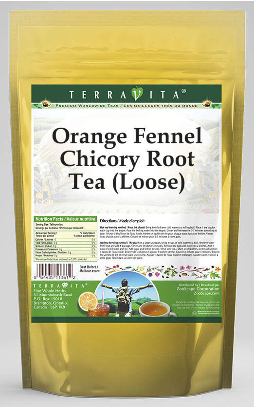 Orange Fennel Chicory Root Tea (Loose)