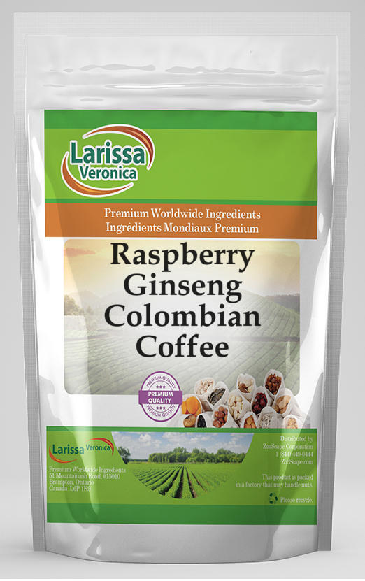 Raspberry Ginseng Colombian Coffee