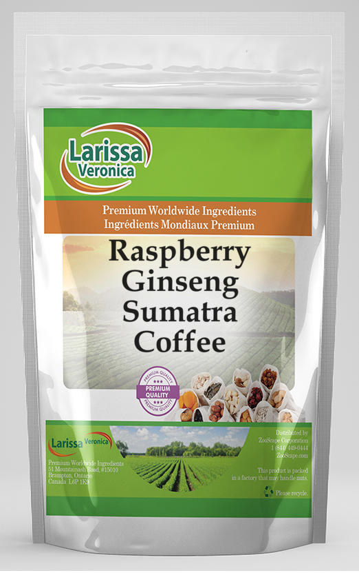 Raspberry Ginseng Sumatra Coffee