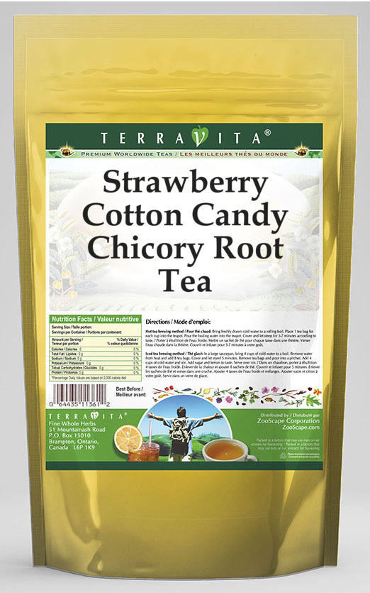 Strawberry Cotton Candy Chicory Root Tea