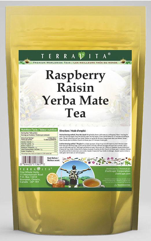 Raspberry Raisin Yerba Mate Tea